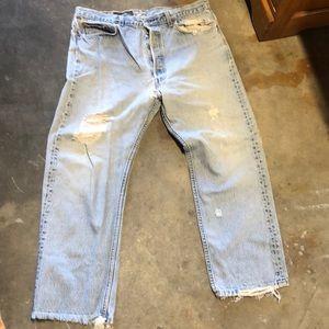 vintage levi 501 jeans (70s)